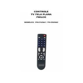 Controle Remoto Tv Tela Plana Philco Ph-21usa1 Ph-29usa2