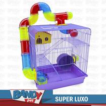 Gaiola Hamster 3 Andares Labirinto