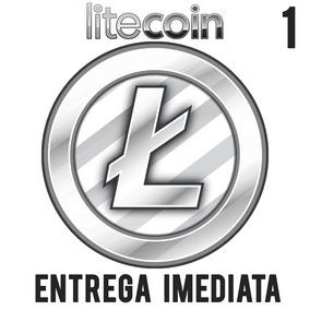 Litecoin 1 Ltc Promoção Melhor Preço Envio Imediato