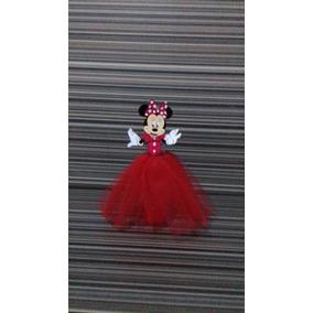 10 Tubetes Personalizados - Minnie Vermelha