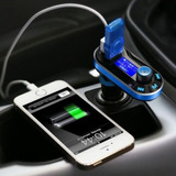 Kit De Bluetooth Wireless Mp3 Fm Transmisor Modulador Usb Sd