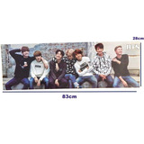 Bts Bangtan Boys Poster Largo Kpop Jimin Rap Monster Suga
