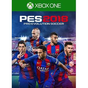 Promoção Jogo Pes 2018 Midia Digital Xbox One Barato