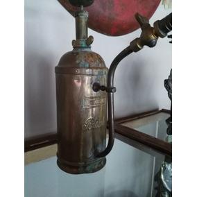 Pulverizador Fumigador Bronce Marca Potente Antiguo