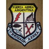 5° Brigada Aérea Parche Escudo Fuerza Aérea Argentina Ffaa