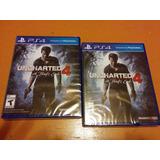 Uncharted 4 Thief End Fisico Sellado Ps4