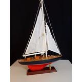Velero Madera Miniatura Decorativo Barco Escala