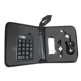 Estuche Con Teclado Numerico - Mouse Y Hub Neo Tecnology
