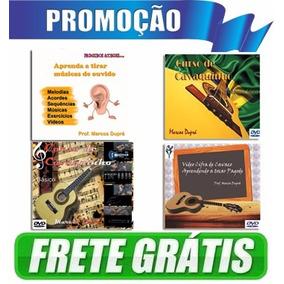 Curso Completo De Cavaquinho - 5 Dvds