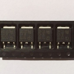 10pc Regulador De Tensão 78m12 12v 7812 Lm7812 Smd To-252