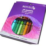 Oleo Oleos Al Pastel Reeves X 24 Unidades Surtidas 4881586