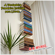 Prateleira Invisível Para Livros.