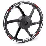 Friso Refletivo Adesivo Full3 Roda Moto Honda Cb 250 Twister