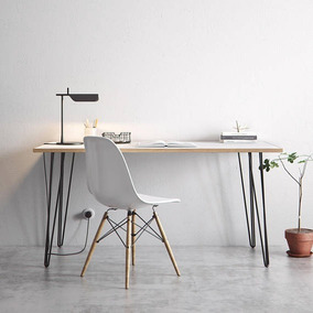 Escritorio Moderno + Silla Eames . Potro Mobiliario