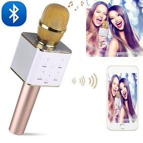 Microfone Youtuber Play Bluetooth Estilo Reporter Smartphone