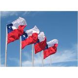 Liquidamos Banderas Chilenas De 2 X 3 M