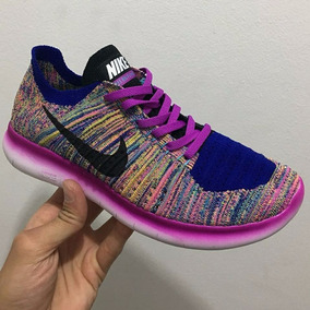 Nike Free Run Rn Flyknit Dama Nuevas En Caja Entrega Ya!!