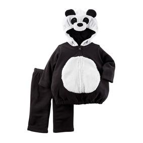 Disfraz Oso Panda Bebé Talla 6-9 Meses Carter