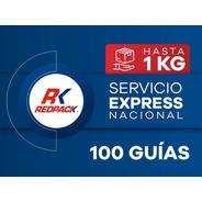 100 Guías Prepagadas Express Hasta 1 Kg