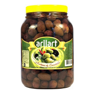 Aceitunas Negras Naturales Clásicas N0 X 2 Kg - Arilart