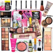 Maleta Maquiagem Top Profissional Completa Ruby Rose Brinde