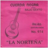 La Norteña - Cuerdas Para Bajo Quinto Y Sexto, 4a