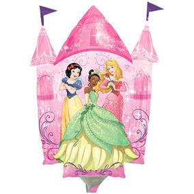 Globos Metalicos 14pulg Centro Mesa Fiesta Princesas Disney
