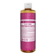 Jabón Liquido Orgánico Dr. Bronner's Rosas 473 Ml