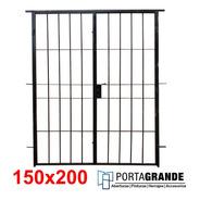 Reja Para Ventana 150x200 Barrote Hierro Del 12