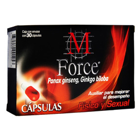 M Force Cápsulas C/30