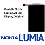 Pantalla Nokia Lumia 520 Lcd Display Original Somos Tienda