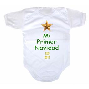 Disfraz Para Bebe Pañalero Personalizado - Mi Primer Navidad 34f0dcaa018