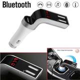 Kit Mãos Livres Bluetooth Carro Transmissor Fm Sd/usb/carreg