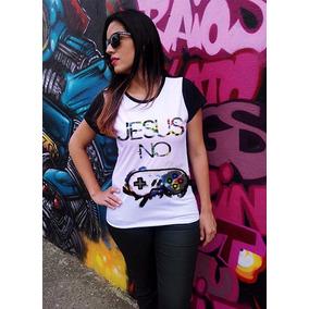Baby Look Feminina,camisetas Crista,gospel,jesus No Controle