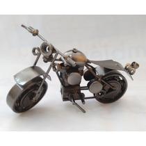 Motocicleta Decorativa Estilo Chatarra 1