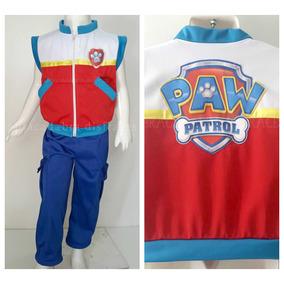 Disfraz Tipo Paw Patrol Ryder Patrulla De Cachorros Jefe Env