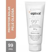 Protetor Solar Facial Episol Sec Oc Pele Oleosa Fps 99 60g