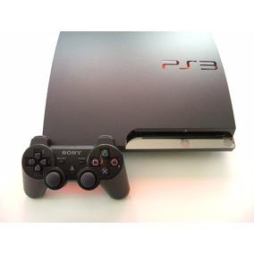 Playstation 3 Slim Ps3 + Controle Original + Jogo