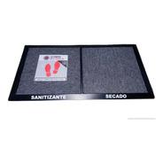 Alfombra Sanitizante  2 En 1 Zona Sucia /limpia 90x50 Cm