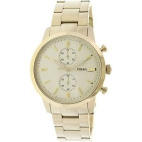 Reloj Dorado Fossil Fs5348 Para Hombre Original Urge Vender