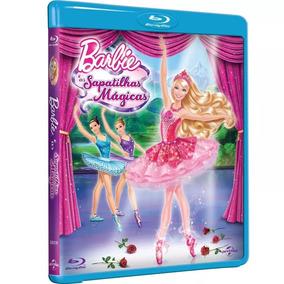 Blu-ray Barbie E As Sapatilhas Mágicas - Original Lacrado