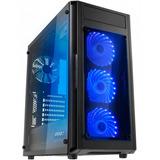 Gabinete Gamer Raidmax Alpha Prime Cristal Alpha A15ttb