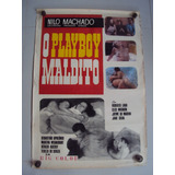 Cartaz Original Playboy Maldito Nilo Machado Poster Foto