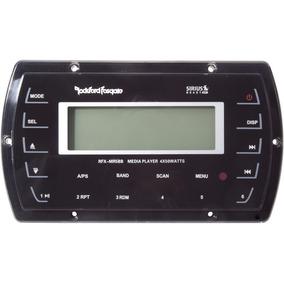 Som Radio Rockford Fosgate Marine Nautico Marítimo Bluetooth