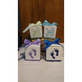 Cajitas Souvenir Especial Baby Shower Nacimiento Primer Año