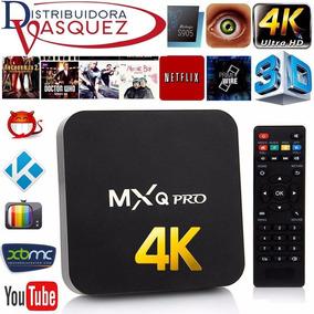 Smart Tv Box 4k Wifi Mxq Android Convertidor En Smart Tv