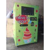 Maquina Automática Expendedora De Nieve De Yogurt