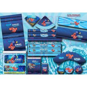 Kit Imprimible Nemo Y Sus Amigos