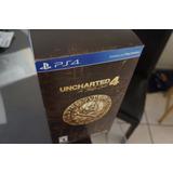 Uncharted 4 Ps4 Edicion Collectors Libertalia Sellada