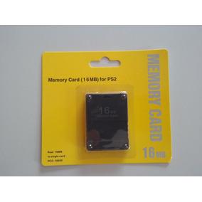Memory Card Ps2 16mb Alta Capaçidade De Gravação Original !